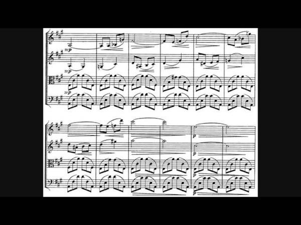 Alexander Borodin - String Quartet No. 1