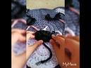 Alfombra de osito con trapillo a crochet /paso a paso (2° parte)