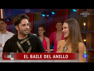 Bailando con las estrellas - David Bustamante y Yana Olina sorprendieron al jurado al son de ''El anillo''