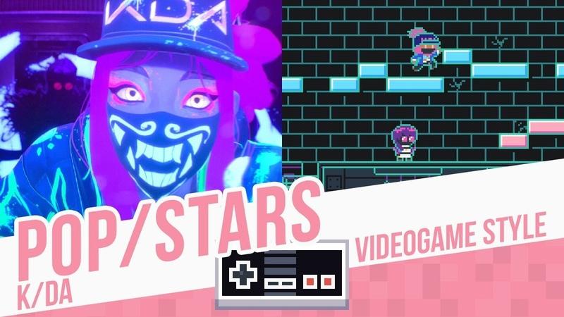POP/STARS, K/DA - Videogame Style