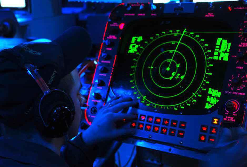 Радар чаще всего используется для нахождения расстояния до летающих объектов или кораблей.