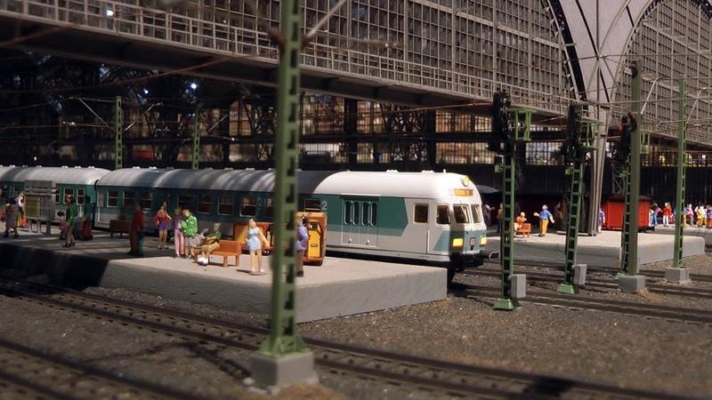 Modelleisenbahn und Schauanlage OKtoRail im Grugapark in Essen von Märklin