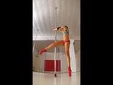 Yurchak Svetlana. Flexy Legs on spinning pole