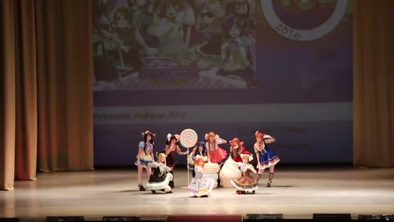 CHEBICON 2016 Няшки Love Live School Idol Project