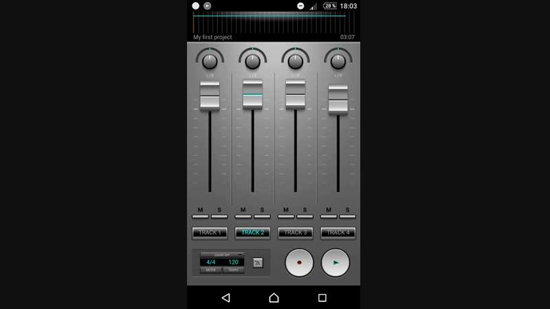 ПРИЛУЧНЫЕ БУДНИ 3-Запись трека на андроид, песни, Сведение . Урок-1 ПРИМЕР ЗАПИСИ В ОПИСАНИИ