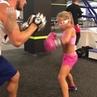 Тренировка девочки