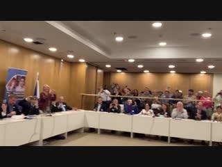 Singing Dancing in the Knesset - Rabbi Shlomo Katz