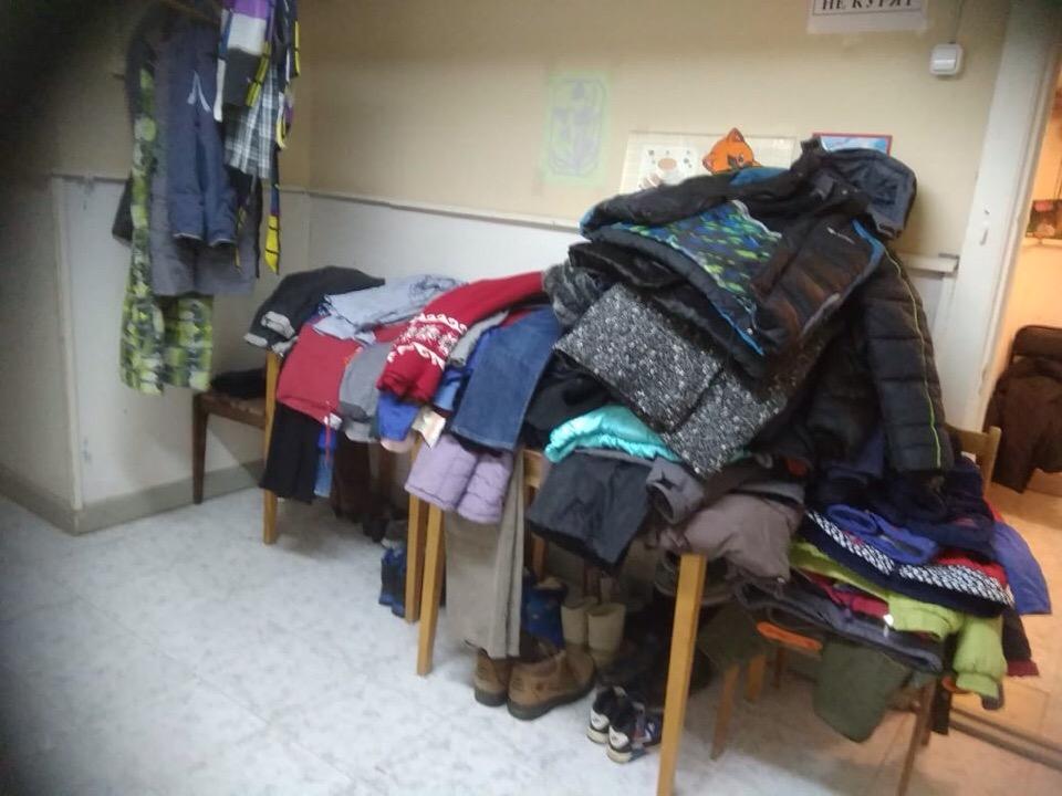 Зимняя одежда для малообеспеченных семей