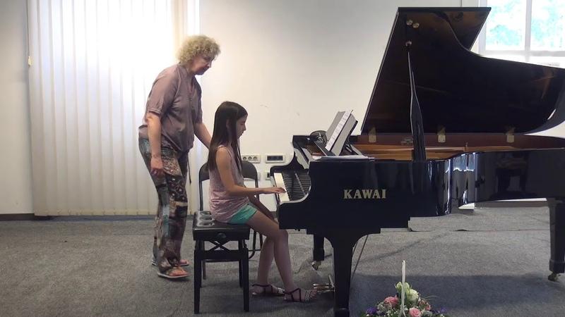 09.07.2018 Mira Marchenkos master-classes. Marija Žderić. Concert Hall, Trogir, Croatia