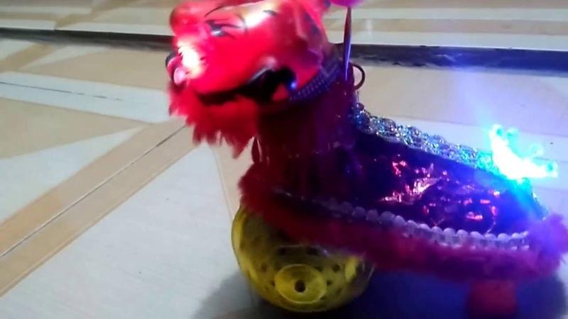 [kubo] Lân đồ chơi đẹp mắt cho các bé vui Trung Thu - unicorn toy 2016
