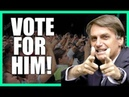 Why You Should Vote For Bolsonaro | Porque Voce Deve Votar em Bolsonaro Na Roda Viva