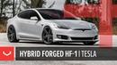 Tesla Model S on Vossen Hybrid Forged HF-1 Wheels