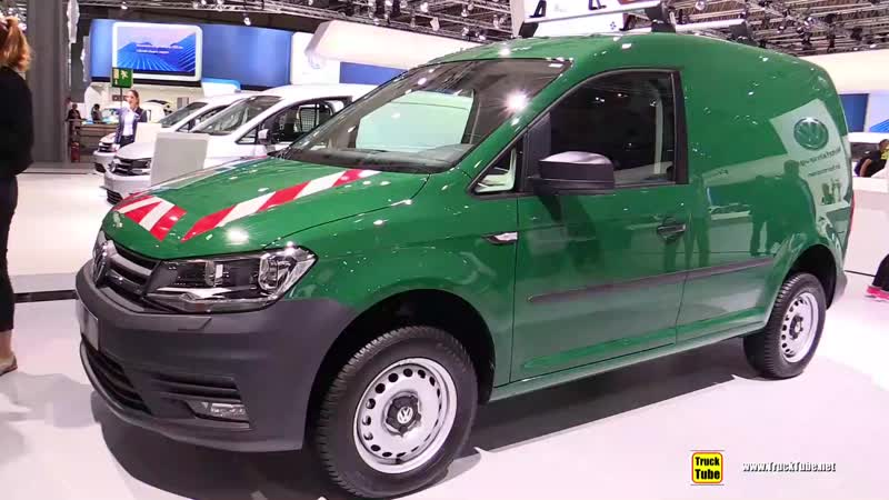 2019 Volkswagen Caddy Trendline Forestry Vehicle - Walkaround - 2018 IAA Hannover