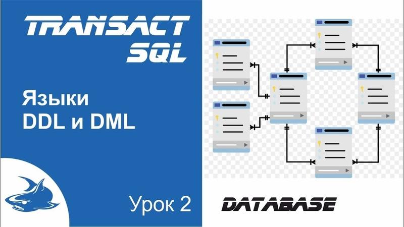 Видео курс Transact SQL. Урок 2. Языки DDL и DML
