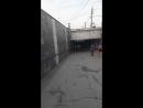 Припарковался в подземном пешеходном переходе.