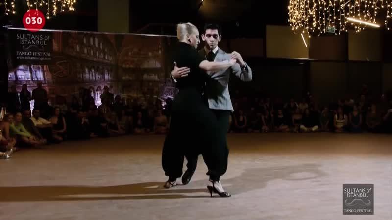 Sara Grdan and Ivan Terrazas - En el rosal 2016 at Sultans of Istanbul Tango Fes