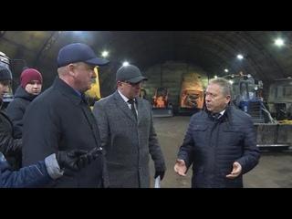 Ульфат Мустафин проинспектировал районные муниципальные бюджетные учреждения по благоустройству