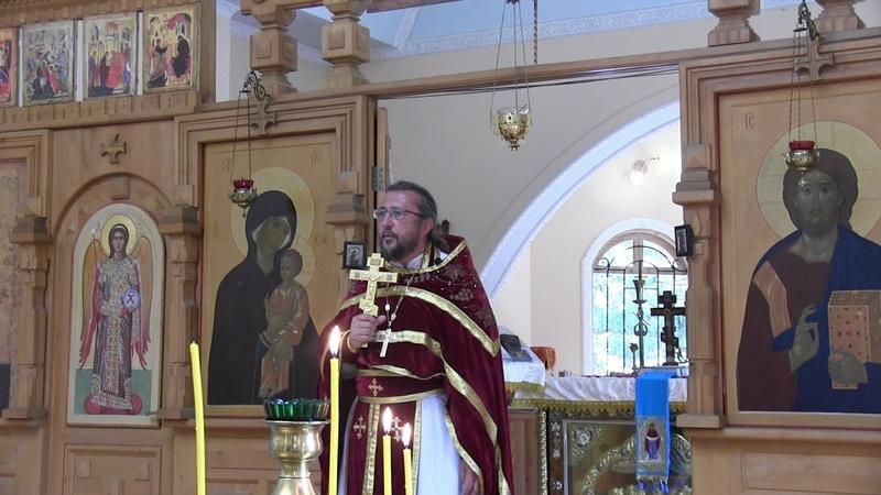 Проповедь в день памяти великомученика и целителя Пантелеимона. Священник Игорь Сильченков