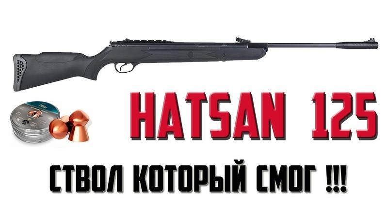 Купил пневматическую винтовку Hatsan 125 / для охоты
