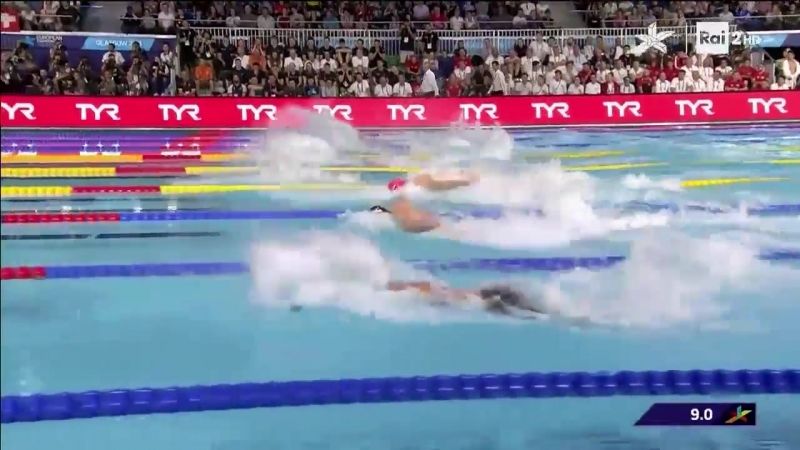 Govorov 22.48 Men 50m Butterfly FINAL European Swimming Championships Glasgow 20