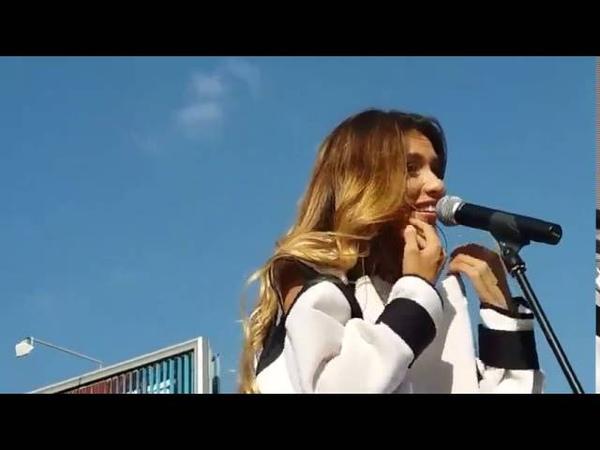 Регина Тодоренко - Не Обижу(Премьера песни)Трц Караван,Киев 10 09 2016