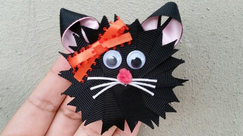 MARATÓN ESPECIAL IDEAS DE HALLOWEEN / bows gato idea No.10