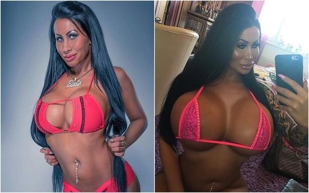 27-летняя немка с самой большой грудью в германии называет себя настоящей барби 27-летняя блогер из берлина увлекается пластикой уже много лет. недавно хирурги сделали ей третью операцию по увеличению груди. теперь бюст немки весит два килограмма и