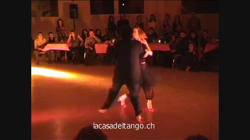 "Танго нуэво. Mariano _""Chicho_"" Frumboli y Eugenia Parrilla"