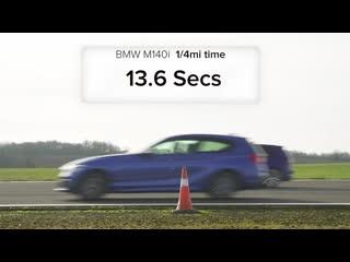 Amg a35 v bmw m140i v golf r v audi s3 v focus rs - drag race, rolling race & br