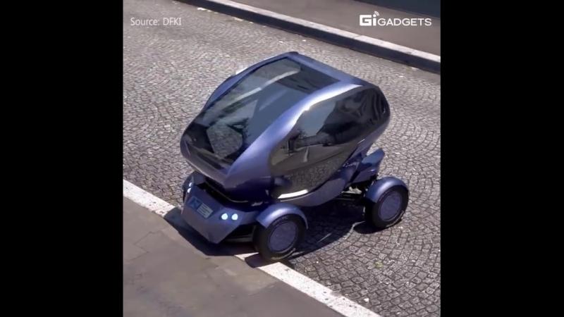 Новый автомобиль краб не пропустит ни одного места для парковки