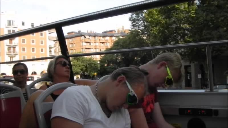 Барселона. Туристы