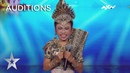 Young Putri Sridevi's Exuberant Dancing Leaves Everyone In Smiles AXN Asia's Got Talent 2019