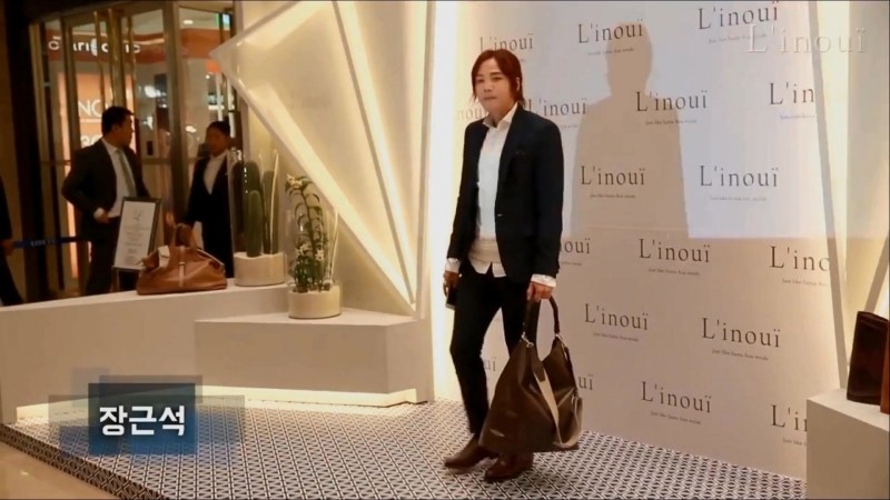 [12.09.2015] JKS arrived at LINOUI shop opening venue