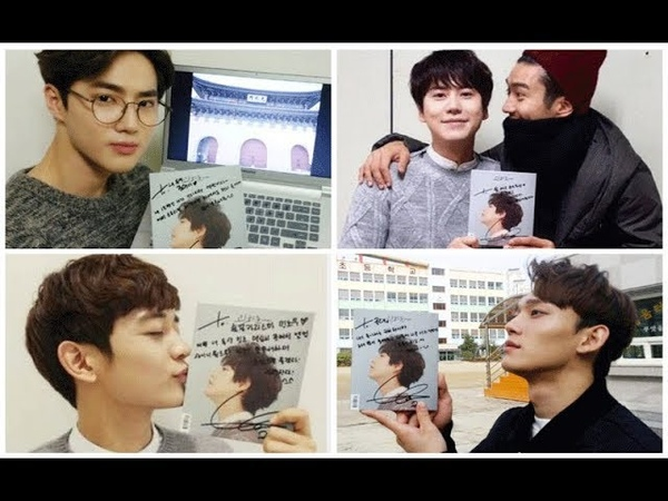Idols Sing Cho Kyuhyun's Song At Gwanghwamun .. Super Junior's Kyuhyun (At Gwanghwamun)