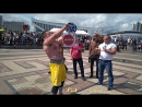 Ярос Миндаугас (Литва), удержание груза перед собой - 25   кг 💪 Minsk Strong Battle - 2018 💪🇧🇾