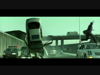 Matrix Reloaded — Highway Scene