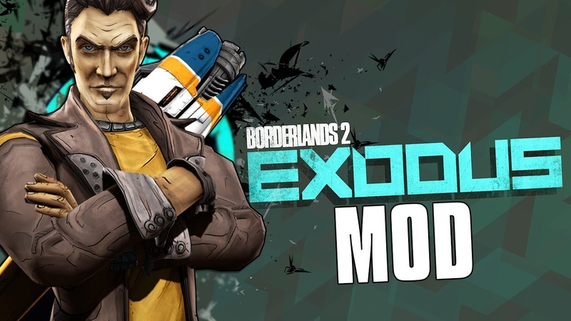 Borderlands 2 Exodus - New PLAYABLE CHARACTER, New Rarities, and Better Allegiance Runs!