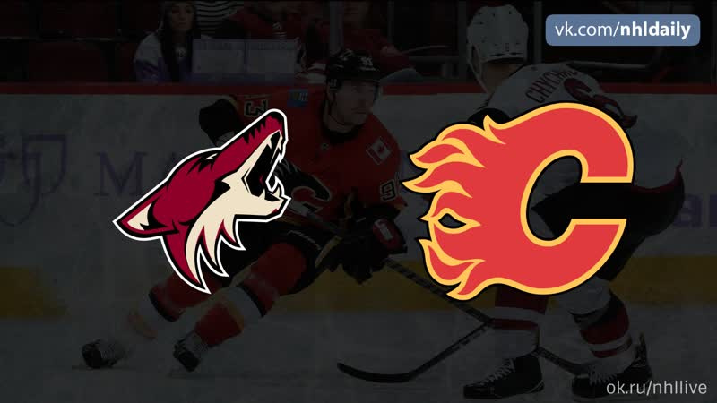 Arizona Coyotes Calgary Flames 14 01 2019