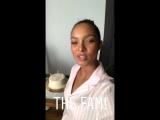 Lais Ribeiro on shooting for Victoria's Secret.
