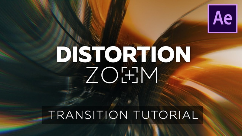 Distortion Zoom Transition Tutorial for After Effects Like Handy Seamless Transitions