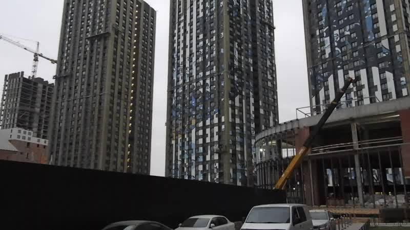 ЖК Эталон Сити башни Токио корпуса №1 2 3 готовность виды снизу крупно