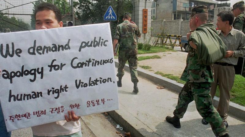 США десятилетиями принуждали кореянок к сексуальному рабству