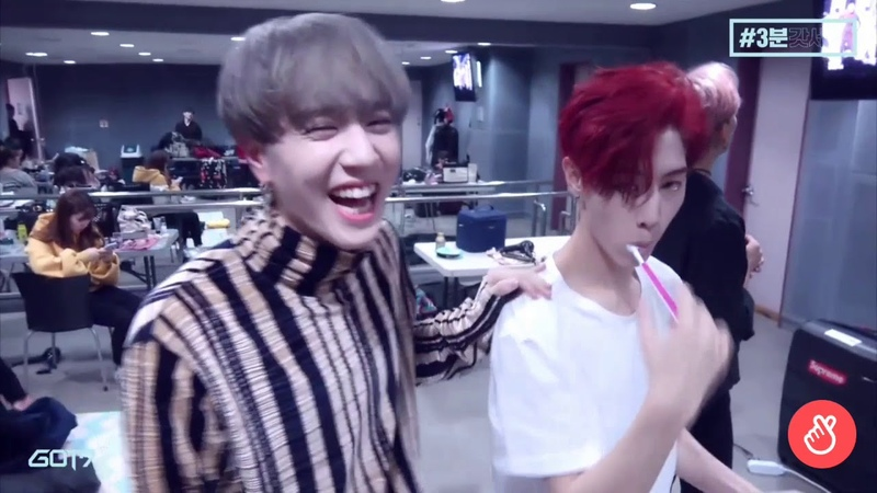 Mark tuan struggling to be the oldest for 3 minutes and 36 seconds straight (ft. yugyeom)