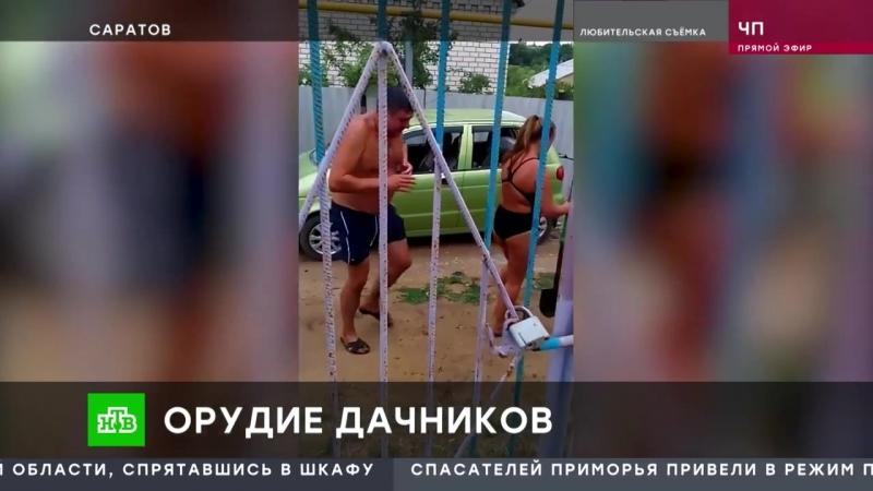 Вспыльчивые дачники устроили бой на лопатах в Саратове
