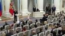 ВКремле прошла торжественная церемония вручения госпремий благотворителям иправозащитникам Новости Первый канал