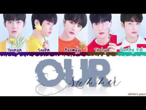 TXT - 'OUR SUMMER' Lyrics [Color Coded_Han_Rom_Eng]