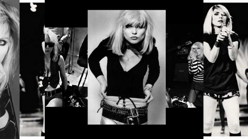 Blondie - Fade Away and Radiate [black'n'white pictures]