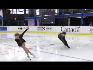 Daria Kvartalova / Alexei Sviatchenko (RUS) | Pairs Short Program | Richmond 2018