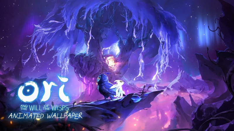 Ori and the will of the Wisps - Animated Wallpaper [FANMADE-LOOP]