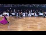 Чемпионат мира по 10 танцам. Медленный фокстрот. Youth under 21. Semifina